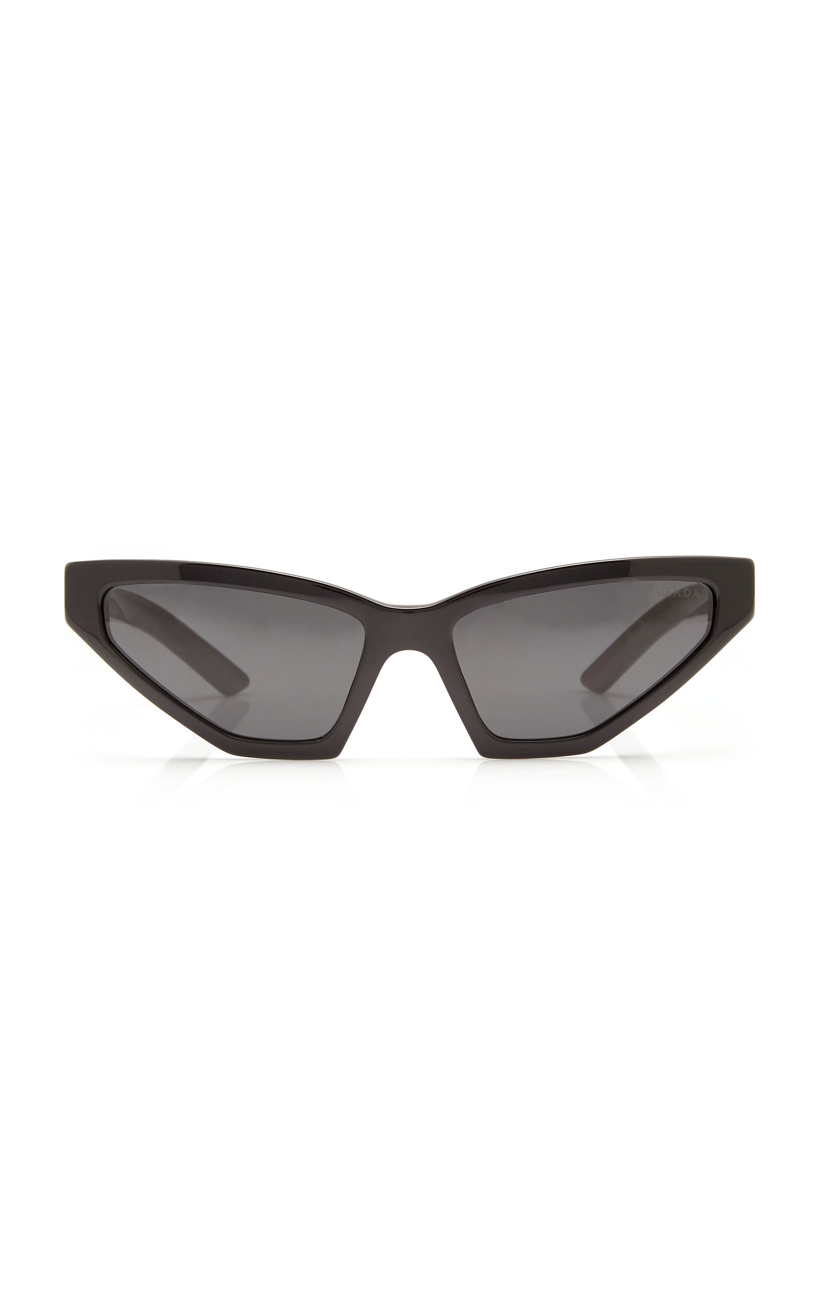 PRADA   Prada Cat-Eye Acetate Sunglasses   Clouty