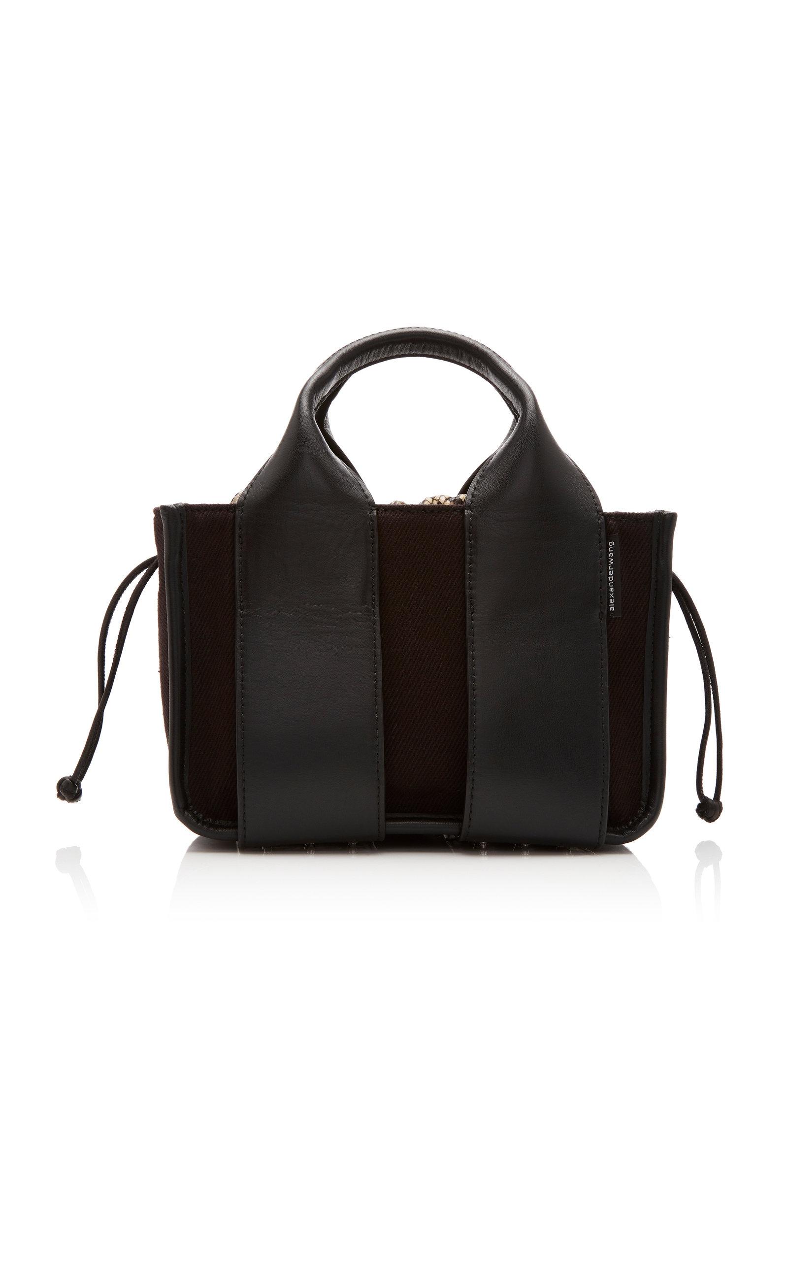Alexander Wang | Alexander Wang Rocco Leather Drawstring Tote Bag | Clouty