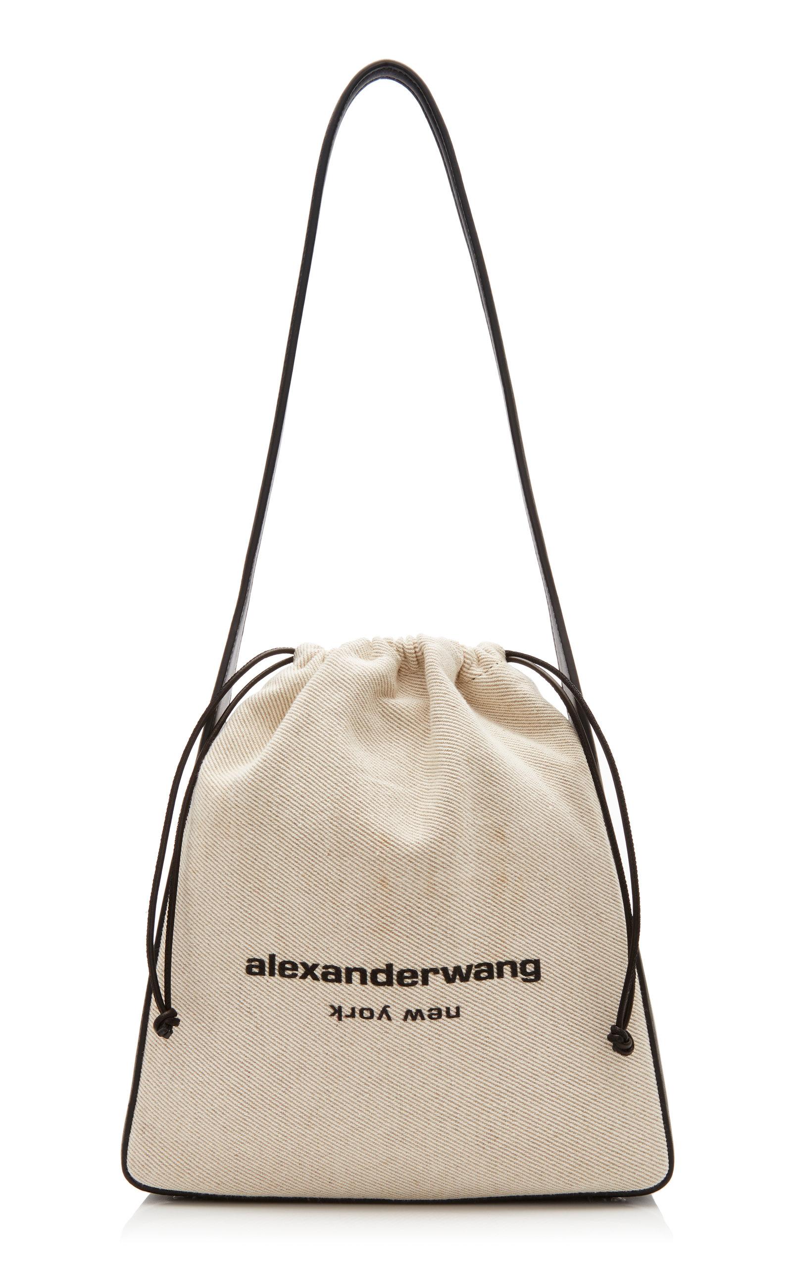 Alexander Wang | Alexander Wang Ryan White Canvas Shoulder Bag | Clouty