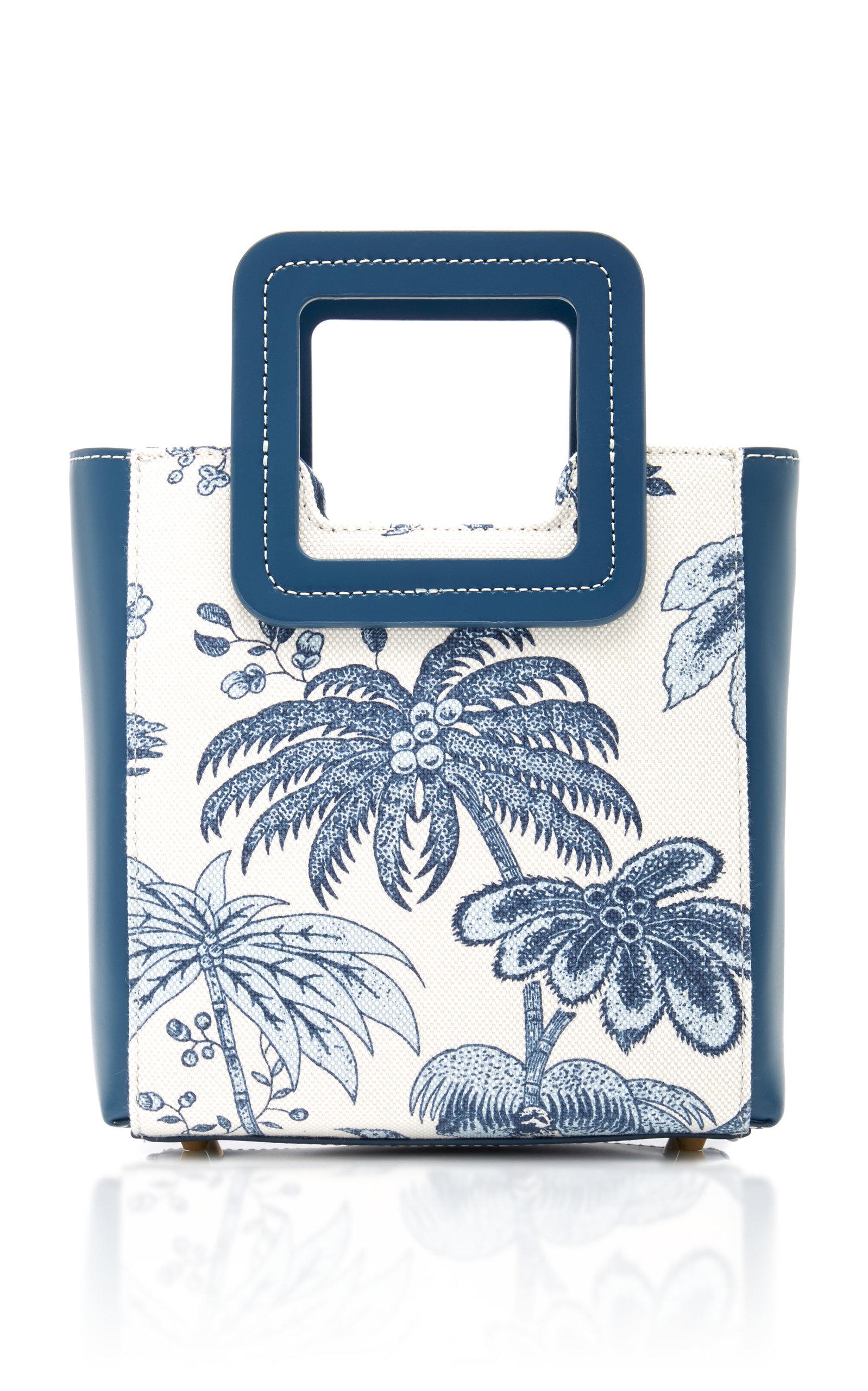 Staud | Staud Shirley Mini Printed Canvas Bag | Clouty