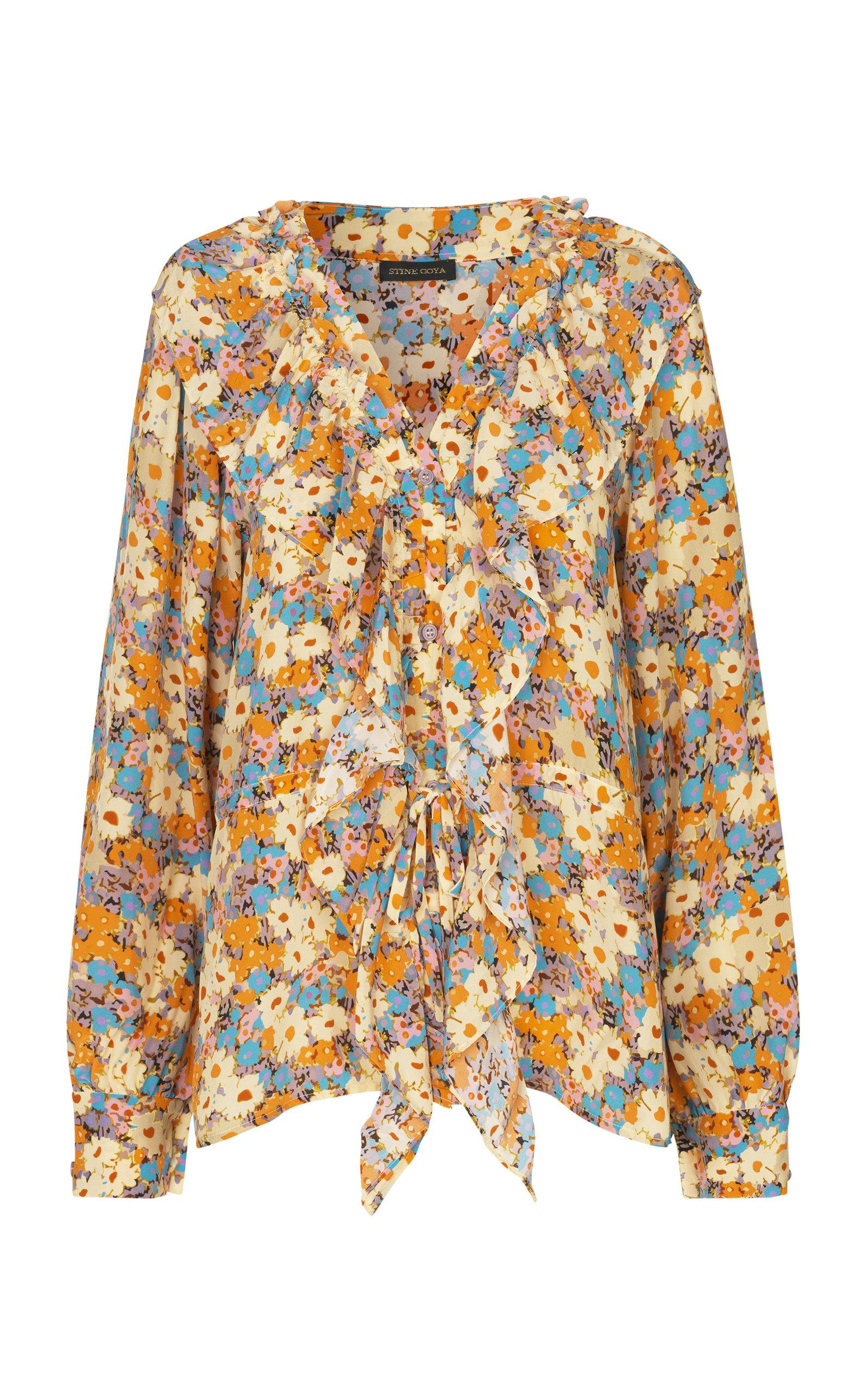 Stine Goya | Stine Goya Mila Floral Long Sleeve Top | Clouty