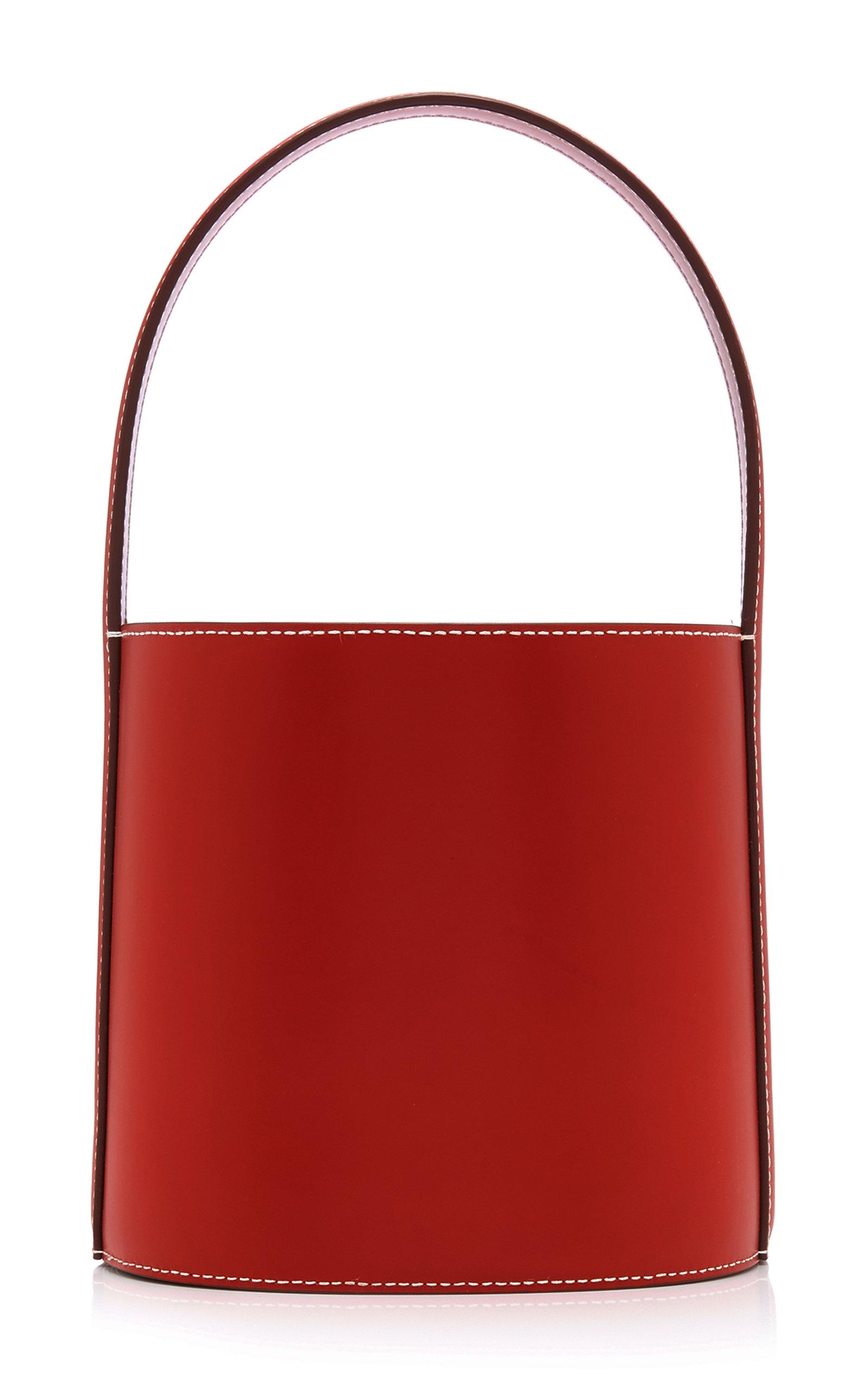 Staud | Staud Bissett Leather Bucket Bag | Clouty