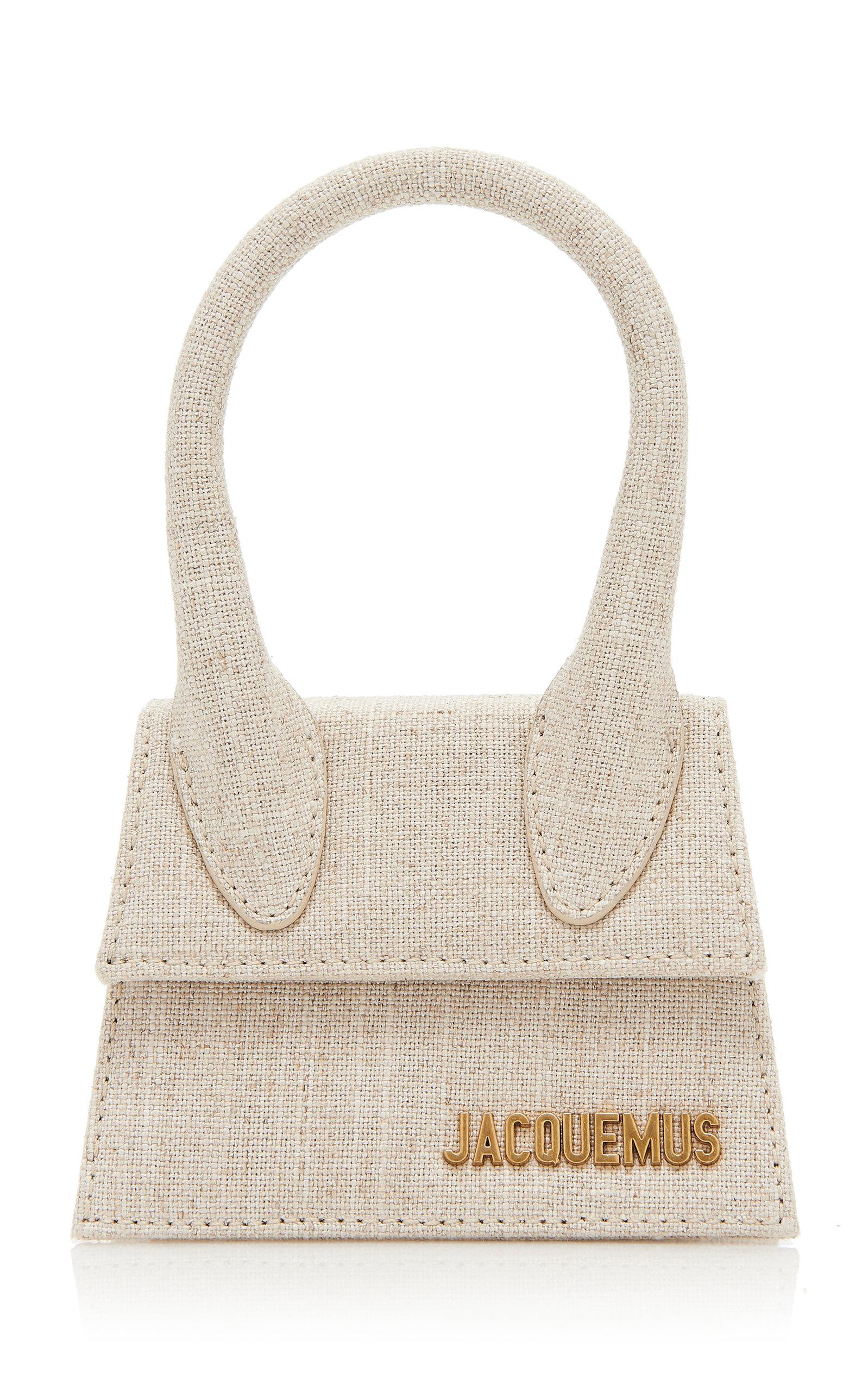 Moda Operandi | Jacquemus Le Chiquito Linen Top Handle Bag | Clouty