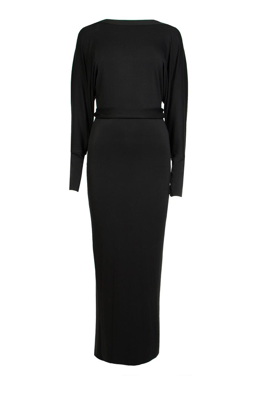 Alexander Terekhov | черный Черное макси-платье | Clouty