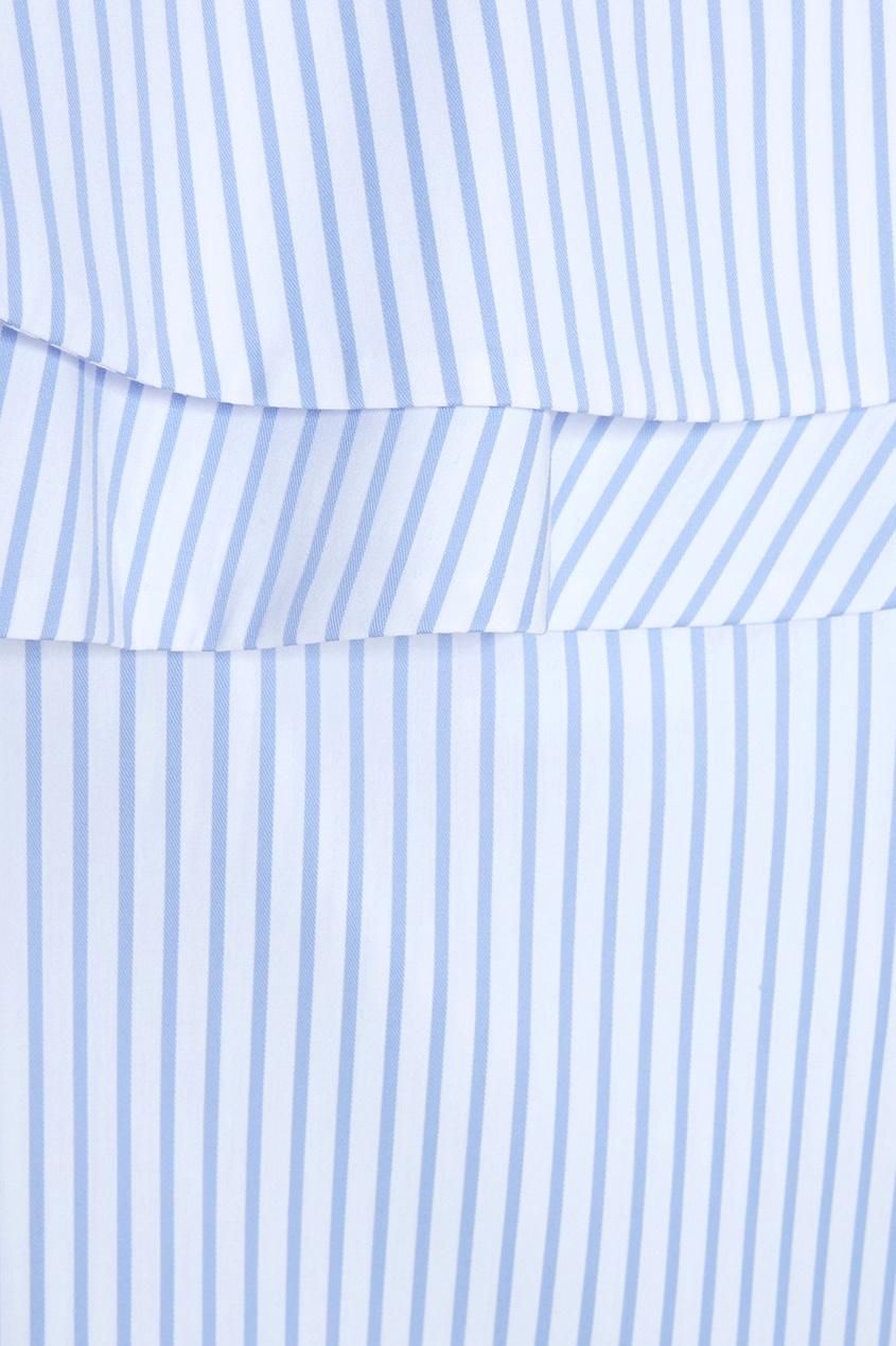 Addicted | голубой Хлопковая блузка | Clouty