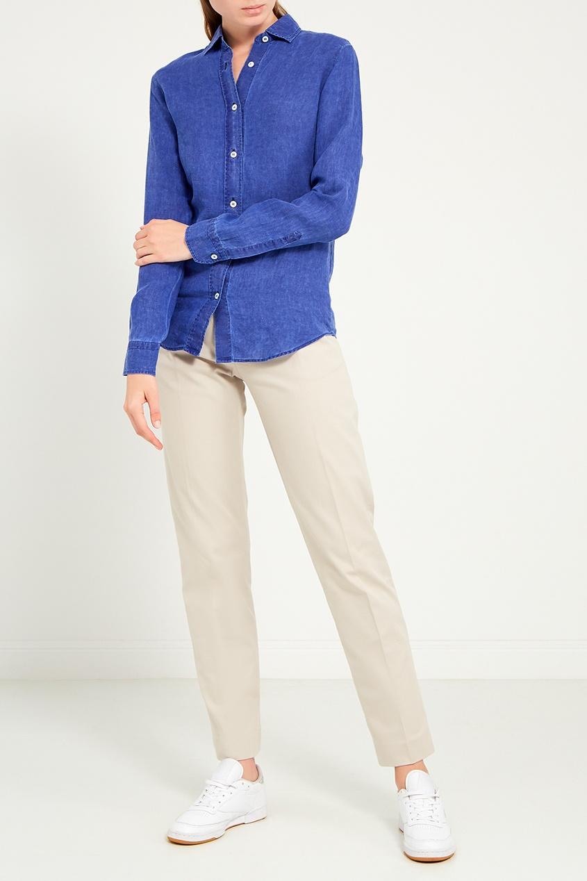 Amina Rubinacci | бежевый Серые классические брюки | Clouty
