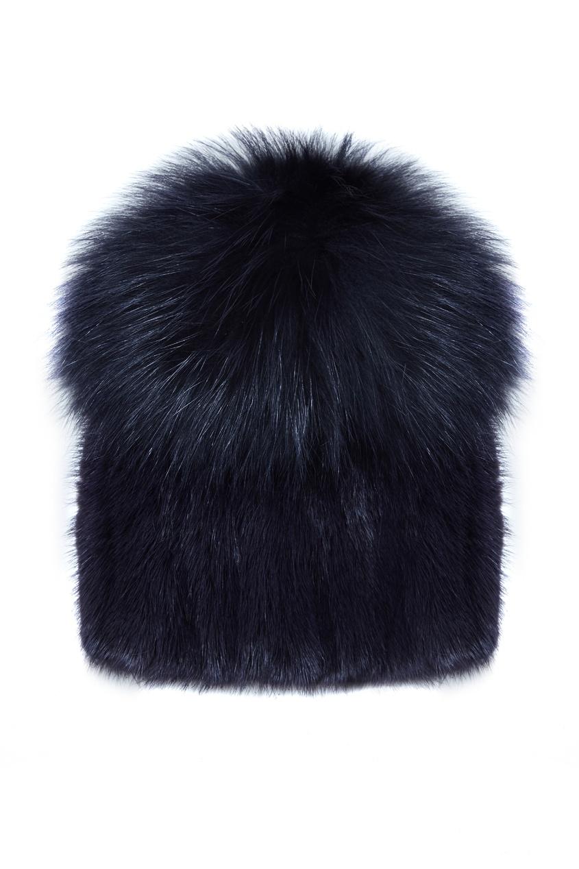 Yves Salomon | черный Черная меховая шапка | Clouty