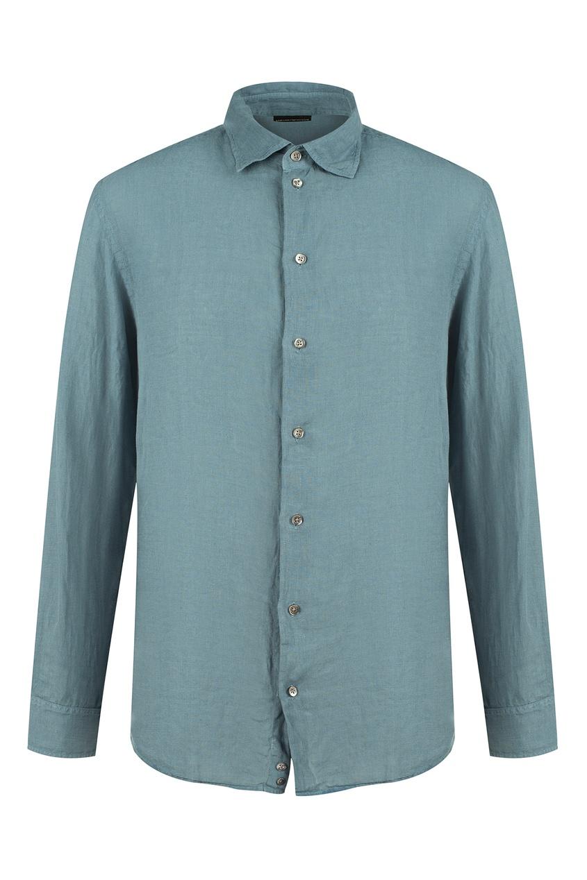Emporio Armani | синий Голубая рубашка | Clouty