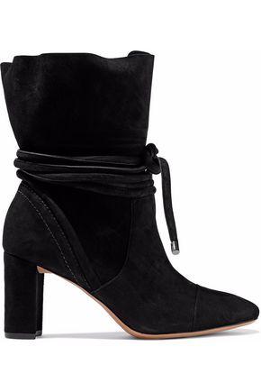 Alexandre Birman | Alexandre Birman Woman Betsy Suede Ankle Boots Black Size 36 | Clouty
