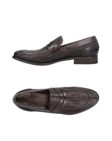 WINSOR | Темно-коричневый Мужские темно-коричневые мокасины WINSOR кожа | Clouty