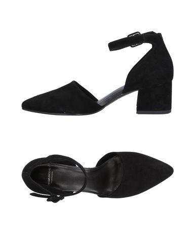 Vagabond | Черный Женские черные туфли VAGABOND SHOEMAKERS замшевая ткань | Clouty