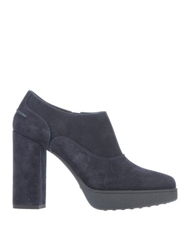 Tod's | Темно-синий Женские темно-синие ботинки TOD'S замшевая ткань | Clouty