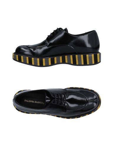 Paloma Barceló   Черный Женская черная обувь на шнурках PALOMA BARCELO без аппликаций   Clouty