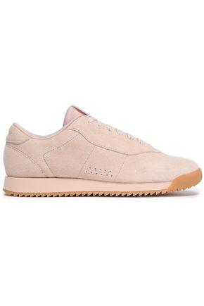 REEBOK | Reebok Woman Princess Ripple Suede Sneakers Pastel Pink | Clouty