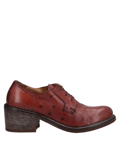 Moma | Какао Женская обувь на шнурках MOMA кожа | Clouty