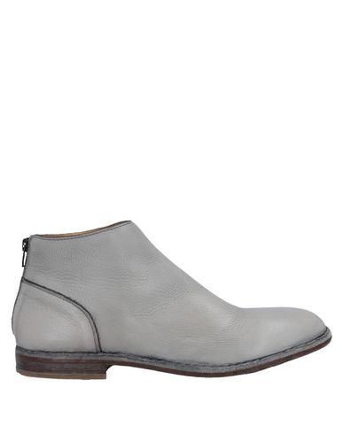 Moma | Светло-серый Мужские светло-серые полусапоги и высокие ботинки MOMA кожа | Clouty