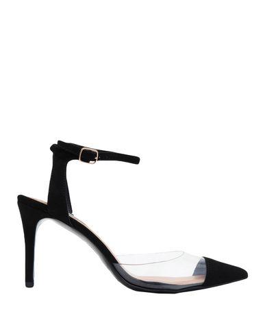 Steve Madden | Черный; Песочный Женские черные туфли STEVE MADDEN искусственная кожа | Clouty