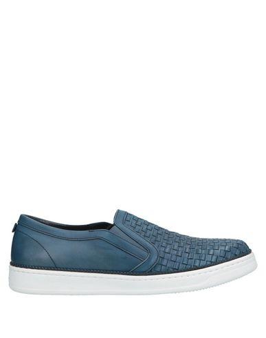 BLU|BARRETT by Barrett | Синий Мужские синие низкие кеды и кроссовки BLU|BARRETT by BARRETT логотип | Clouty
