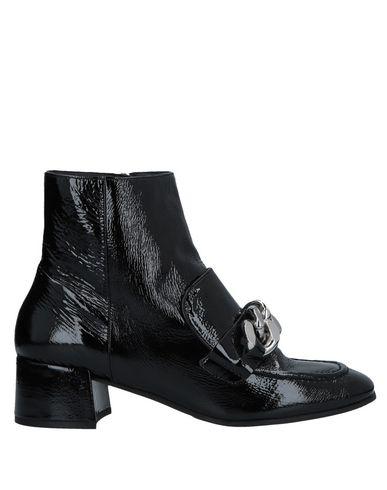 Elvio Zanon | Черный Женские черные полусапоги и высокие ботинки ELVIO ZANON кожа | Clouty