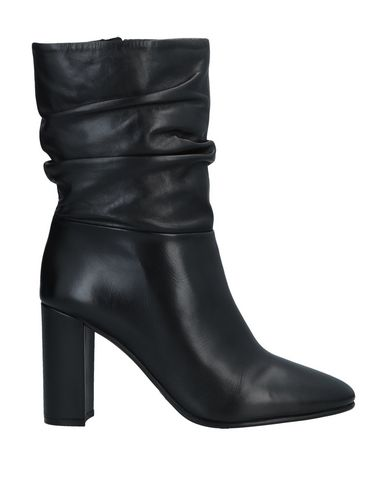 Elvio Zanon   Черный Женские черные полусапоги и высокие ботинки ELVIO ZANON без аппликаций   Clouty