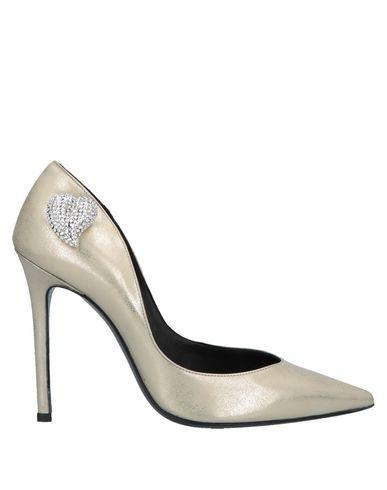 Aperlai | Платиновый Женские платиновые туфли APERLAI эффект ламинирования | Clouty