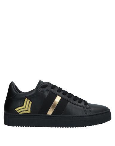Stokton | Черный Женские черные низкие кеды и кроссовки STOKTON вышивка | Clouty