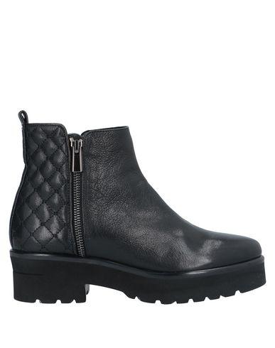 Pas De Rouge | Черный Женские черные полусапоги и высокие ботинки PAS DE ROUGE кожа | Clouty