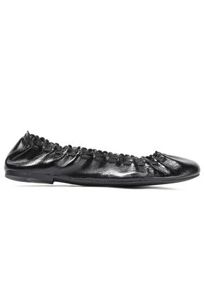 See by Chloé | See By Chloe Woman Jane Patent-leather Ballet Flats Black | Clouty