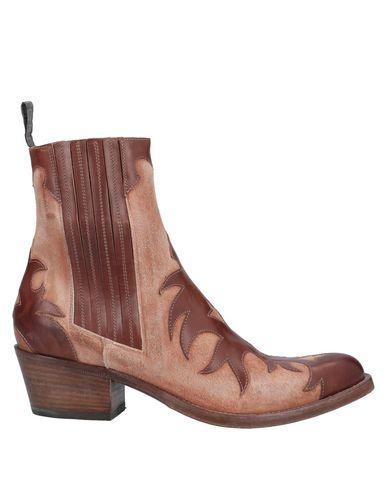 Sartore   Коричневый Женские коричневые полусапоги и высокие ботинки SARTORE кожа   Clouty