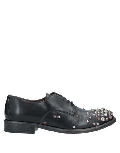 Sartore | Черный Женская черная обувь на шнурках SARTORE заклепки | Clouty