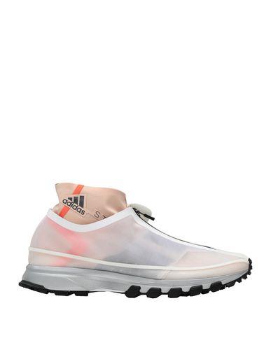 adidas by Stella McCartney | Белый Женские белые высокие кеды и кроссовки ADIDAS by STELLA McCARTNEY логотип | Clouty