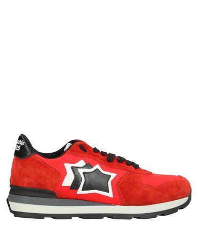 Atlantic Stars | Красный Женские красные низкие кеды и кроссовки ATLANTIC STARS техническая ткань | Clouty