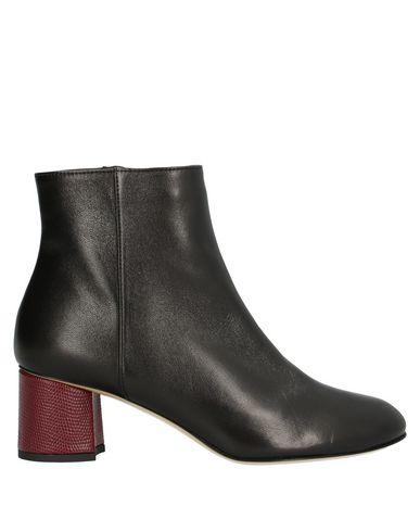 Ninalilou   Черный Женские черные полусапоги и высокие ботинки NINALILOU наппа   Clouty