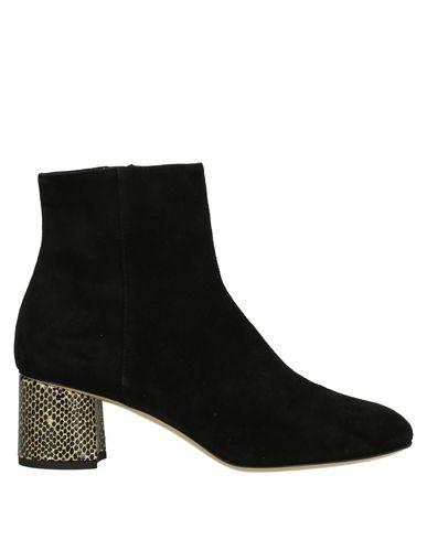 Ninalilou | Черный Женские черные полусапоги и высокие ботинки NINALILOU замшевая ткань | Clouty