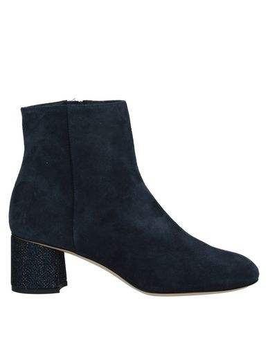 Ninalilou | Темно-синий Женские темно-синие полусапоги и высокие ботинки NINALILOU кожа | Clouty