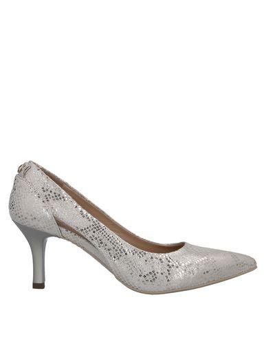 Nero Giardini | Светло-серый Женские светло-серые туфли NERO GIARDINI змеиный принт | Clouty