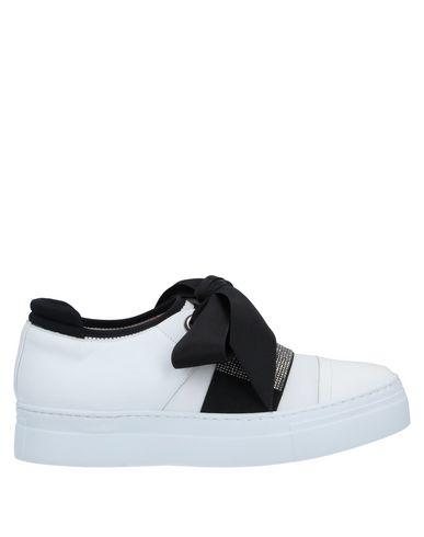 DIGIADA   Белый Женские белые низкие кеды и кроссовки DIGIADA неопрен   Clouty