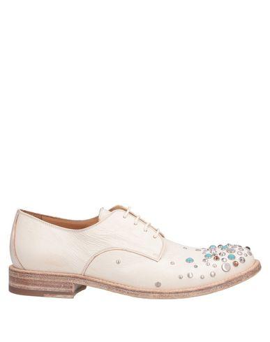 Sartore | Слоновая кость Женская обувь на шнурках SARTORE кожа | Clouty