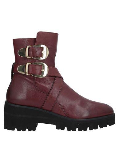 Elvio Zanon   Коричневый Женские коричневые полусапоги и высокие ботинки ELVIO ZANON кожа   Clouty