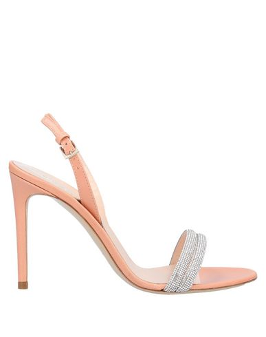 Ninalilou | Лососево-розовый Женские сандалии NINALILOU кожа | Clouty