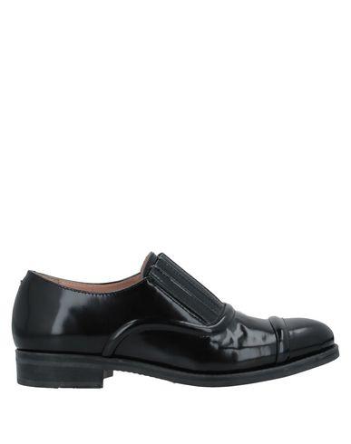 Stokton | Черный Женские черные мокасины STOKTON полированная кожа | Clouty