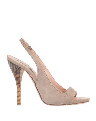 Ninalilou | Голубиный серый Женские сандалии NINALILOU кожа | Clouty