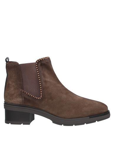 Hispanitas | Коричневый Женские коричневые полусапоги и высокие ботинки HISPANITAS замшевая ткань | Clouty
