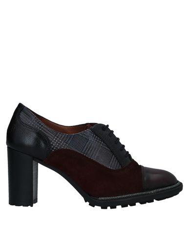 Hispanitas | Красно-коричневый Женская обувь на шнурках HISPANITAS кожа | Clouty