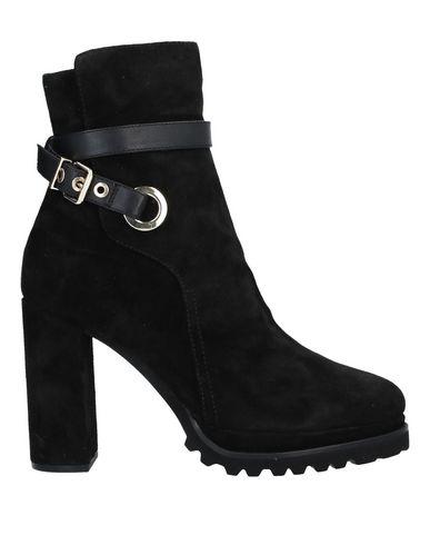 Elvio Zanon | Черный Женские черные полусапоги и высокие ботинки ELVIO ZANON замшевая ткань | Clouty