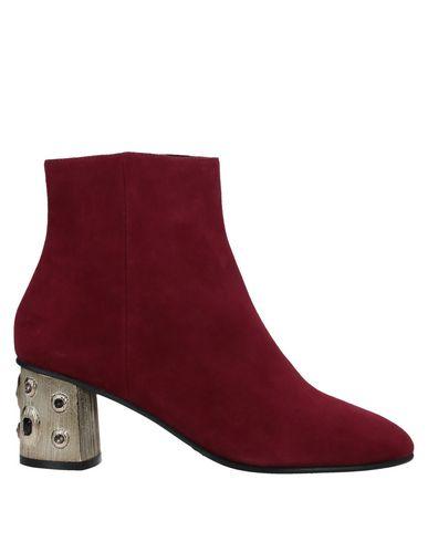 Elvio Zanon | Красно-коричневый; Коричневый Женские полусапоги и высокие ботинки ELVIO ZANON замшевая ткань | Clouty
