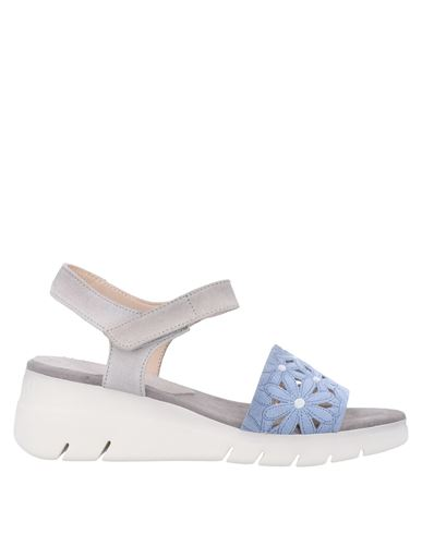 Hispanitas | Небесно-голубой Женские сандалии HISPANITAS замшевая ткань | Clouty
