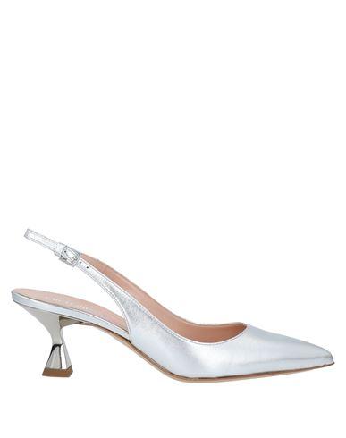 Ninalilou | Серебристый Женские серебристые туфли NINALILOU эффект ламинирования | Clouty