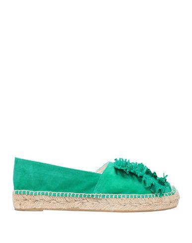 Castañer | Зеленый; Коричневый Женские зеленые эспадрильи CASTANER замшевая ткань | Clouty