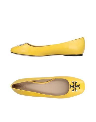 Tory Burch | Желтый Женские желтые балетки TORY BURCH кожа | Clouty